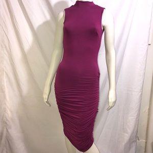 Bebe dress womenusmall purple sleeveless